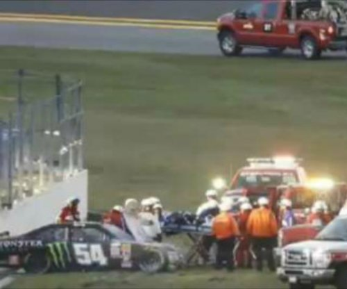 Kyle Busch injured during crash in Xfinity race, out of Daytona 500