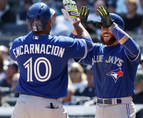 Sore hamstring not keeping Russell Martin out of Toronto Blue Jays lineup