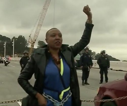 MLK protesters shut down California's Bay Bridge; 25 arrested