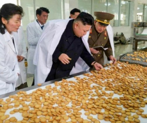North Korean children spurn candy bags from Kim Jong Un