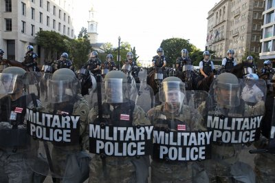 Trump threatens to send military to 'solve' violent U.S. protests