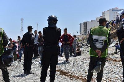 Spain deploys military as 8,000 migrants arrive in Ceuta enclave