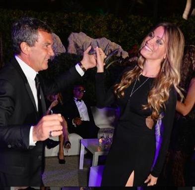 Antonio Banderas linked to Dutch investment banker Nicole Kempel