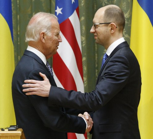 Biden to hold 'extensive' discussions with Ukraine leaders in Kiev