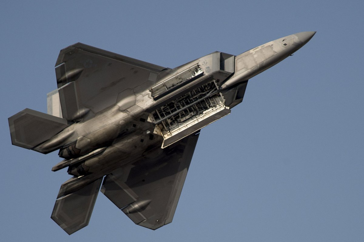 China tracked U S  F    stealth fighters  analyst says   UPI com