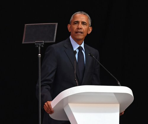 Obama in South Africa: We are in 'strange' and 'uncertain' times