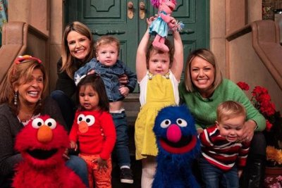 'Today' moms visit 'Sesame Street' with their kids