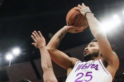 Timberwolves' Derrick Rose sinks Suns with late fadeaway jumper
