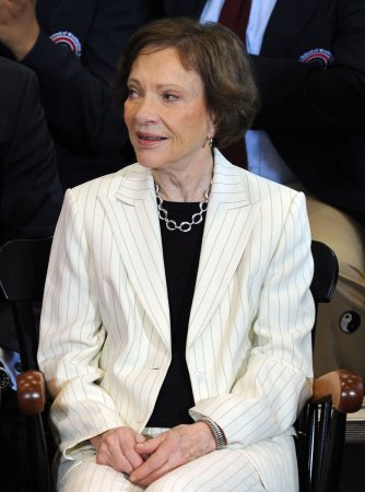 Rosalynn Carter urges vaccinations