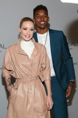 Iggy Azalea, beau Nick Young attend New York Fashion Week