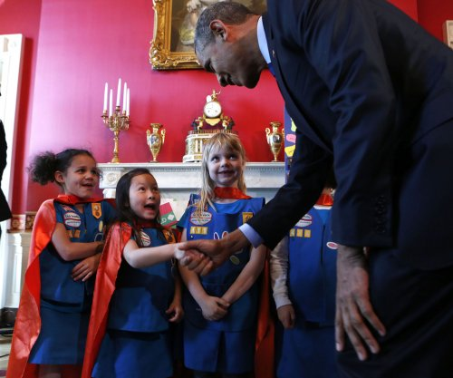 Budding young scientists turn heads at White House Science Fair