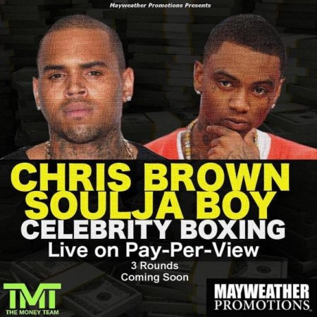 Chris Brown, Soulja Boy announce celebrity boxing match promoted by Floyd Mayweather