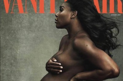 Pregnant Serena Williams goes nude for Vanity Fair cover
