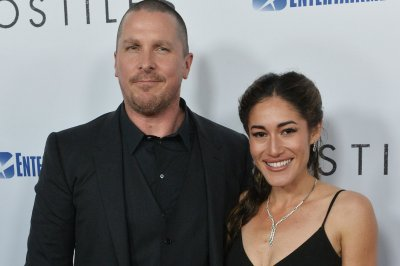 Christian Bale, Q'orianka Kilcher attend LA premiere for their film 'Hostiles'