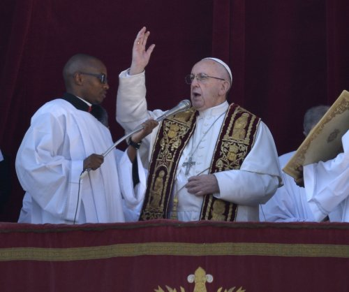 Pope asks for 'peaceful coexistence' of Israelis, Palestinians