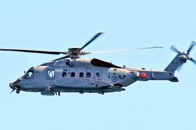 Canadian military helicopter crashes in Mediterranean off Greece