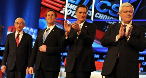 Santorum calls Dems: Vote against Romney