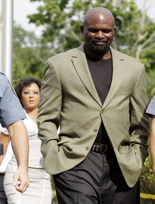 L. Taylor pleads not guilty to rape charge