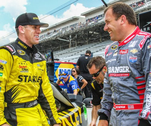 Carl Edwards edges Kyle Larson for pole at Watkins Glen