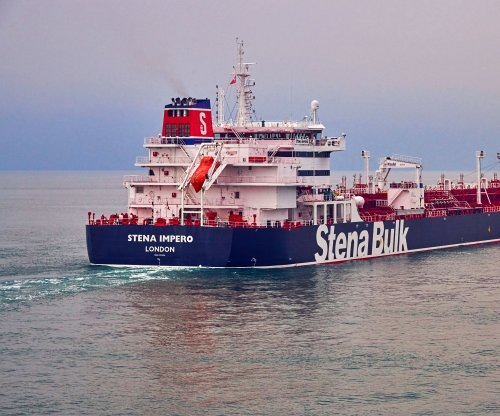 1 of 2 seized British-linked tankers now in Iranian custody