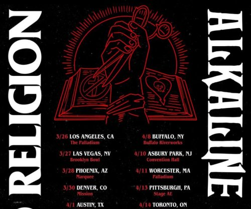Bad Religion, Alkaline Trio to launch joint tour in March