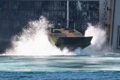 BAE nabs $113.5M for 26 Amphibious Combat Vehicles for Navy