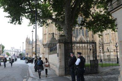 Homeless man found dead near entrance to British Parliament