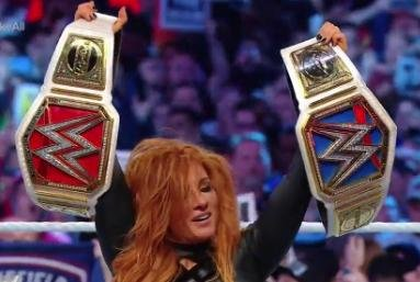 WWE WrestleMania: Becky Lynch wins it all, Kofi Kingston prevails