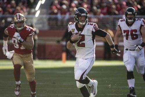 Julio Jones, Atlanta Falcons stun San Francisco 49ers with last-second touchdown