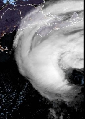 Hurricane Teddy heads for Atlantic Canada