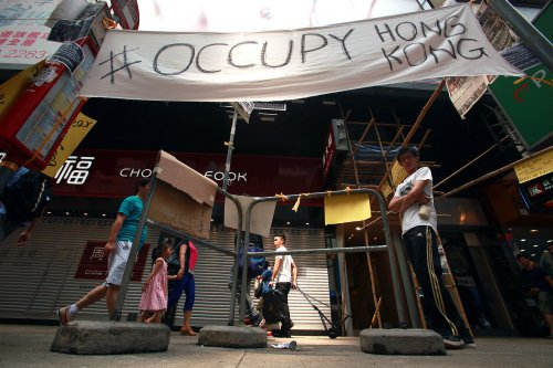 Taiwan sides with Hong Kong pro-democracy protesters