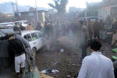 At least 20 killed in Pakistan market bombing