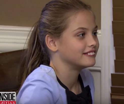Anna Nicole Smith's daughter makes rare TV appearance