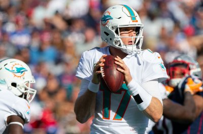 Dolphins QB Ryan Tannehill questionable vs. Bears