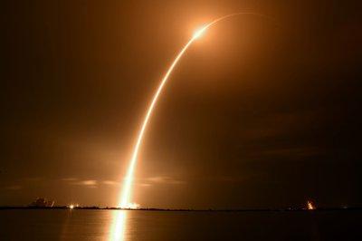 SpaceX's night-time launch sends SiriusXM satellite into orbit
