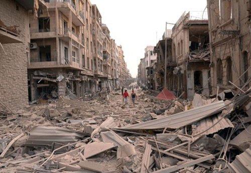 Syrian air force attack kills dozens
