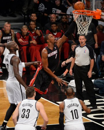 Chris Bosh, Miami Heat tangle with visiting Clippers