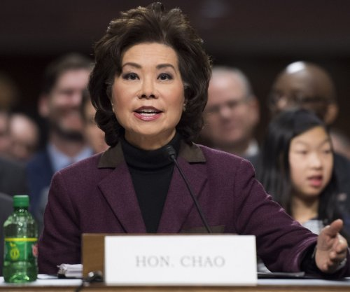 Elaine Chao confirmed as transportation chief