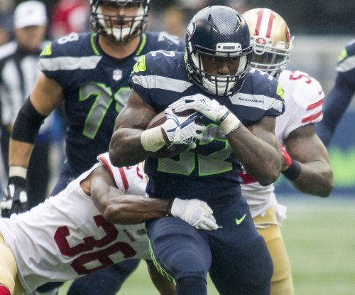 Rookie Chris Carson emerging as Seattle Seahawks' primary running back