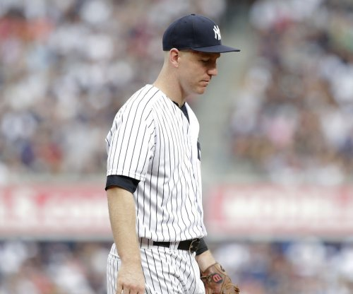 Todd Frazier: New York Yankees 3B falls for hidden ball trick vs. Toronto Blue Jays