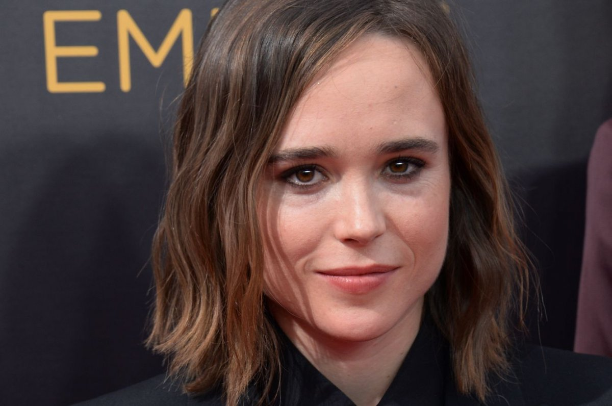 Ellen Page at 2014 Vanity Fair Oscar Party on March 2, 2014 in West  Hollywood
