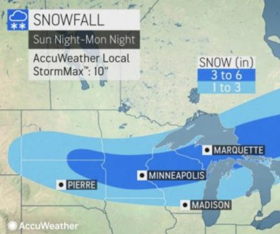 Flash freeze to shock Midwest after another dose of snow