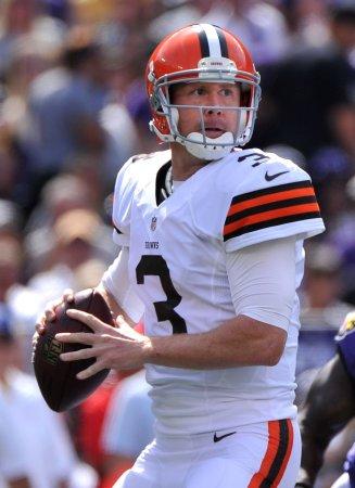 Weeden back as Browns' starting quarterback
