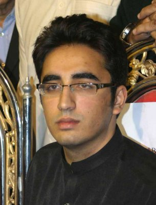Bhutto son says studies come first