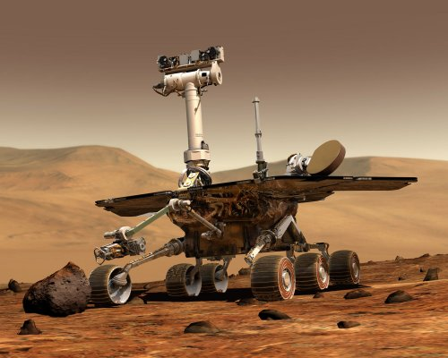 Mars rovers roll on after five years