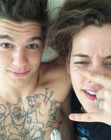 Riley Keough, Ben Smith-Peterson engaged
