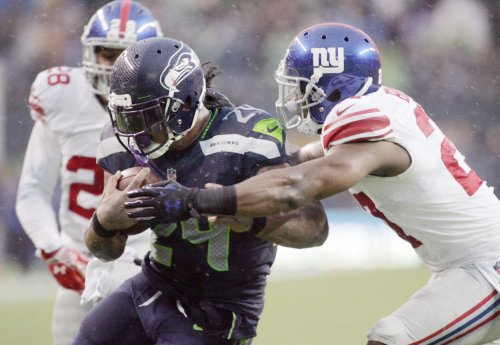 Lynch, Seahawks run away from Giants in 4th quarter