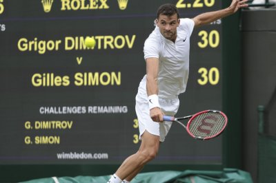 Grigor Dimitrov reaches semis in home country of Bulgaria