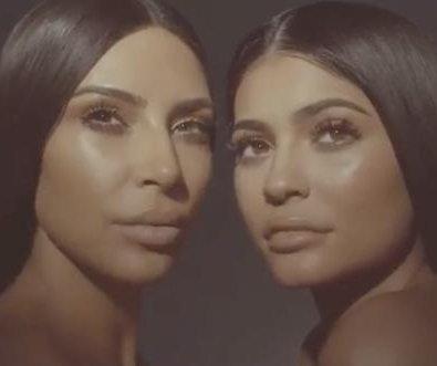 Kylie Jenner, Kim Kardashian tease cosmetics collaboration
