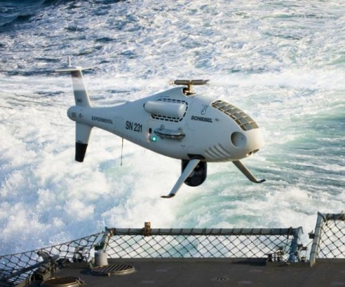 Unmanned helo completes French navy flight trials